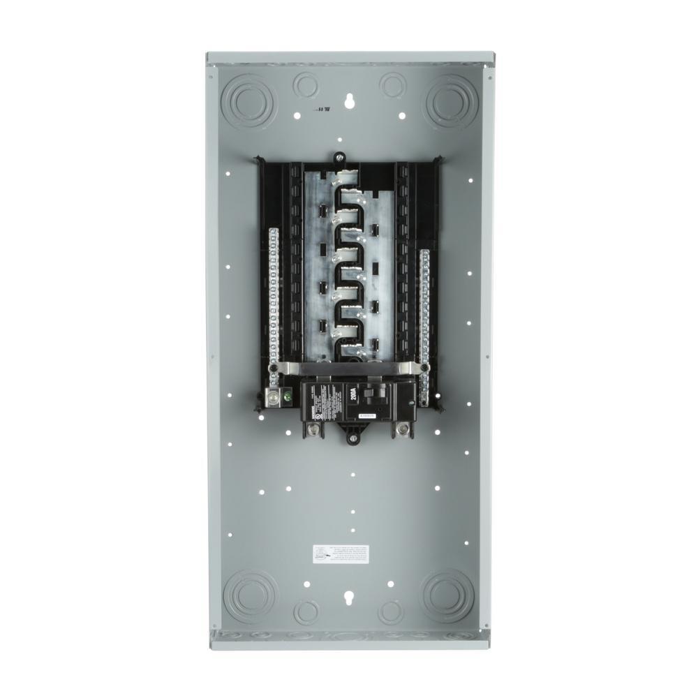 medium resolution of siemens es series 200 amp 20 space 40 circuit main breaker indoor load center