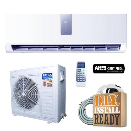 small resolution of super efficiency gwi series 24 000 btu 2 ton inverter ductless mini split air conditioner and heat pump 230v 60hz