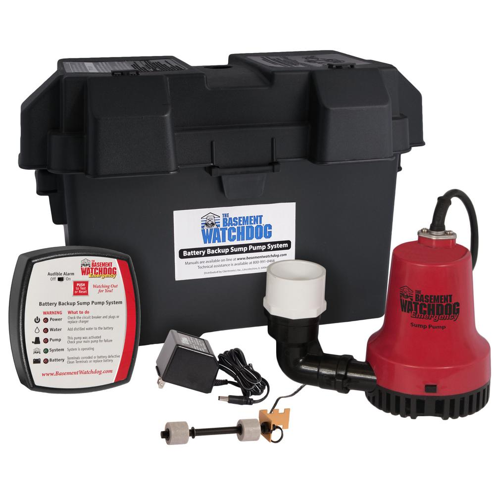 medium resolution of basement watchdog emergency battery backup sump pump system