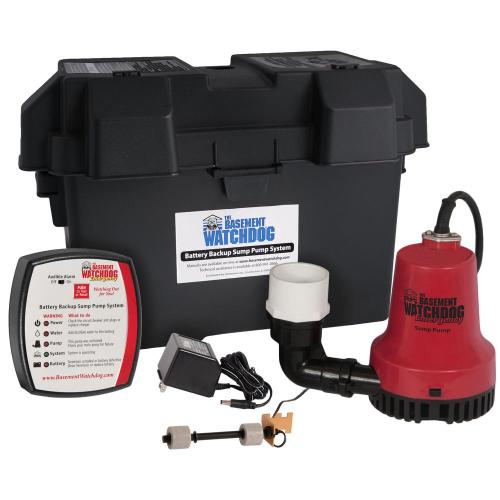 small resolution of basement watchdog emergency battery backup sump pump system