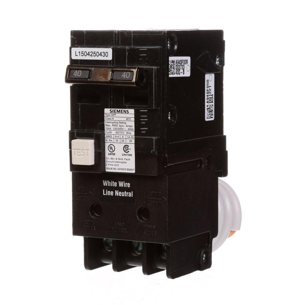 hight resolution of siemens 40 amp double pole type qpf gfci circuit breaker
