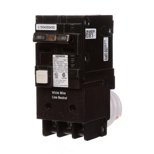 small resolution of siemens 40 amp double pole type qpf gfci circuit breaker
