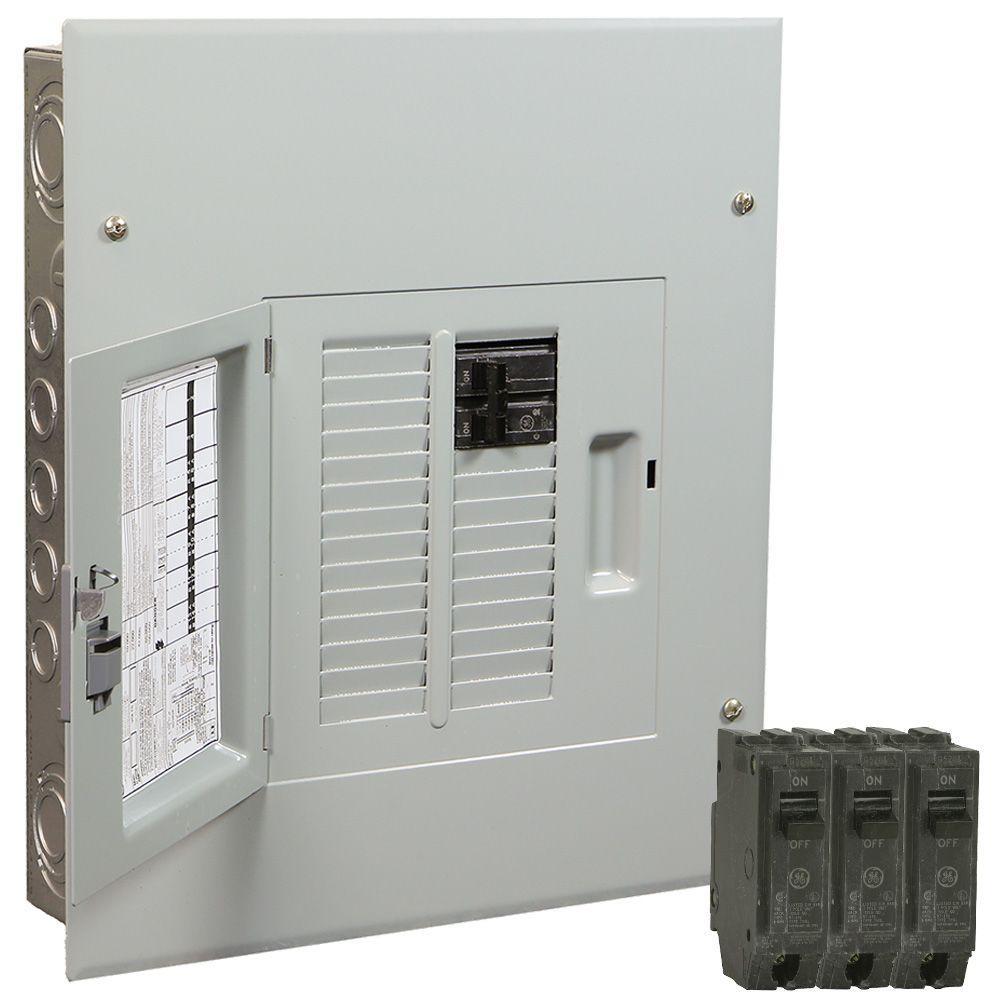 hight resolution of ge powermark gold 100 amp 12 space 22 circuit indoor main breaker value kit
