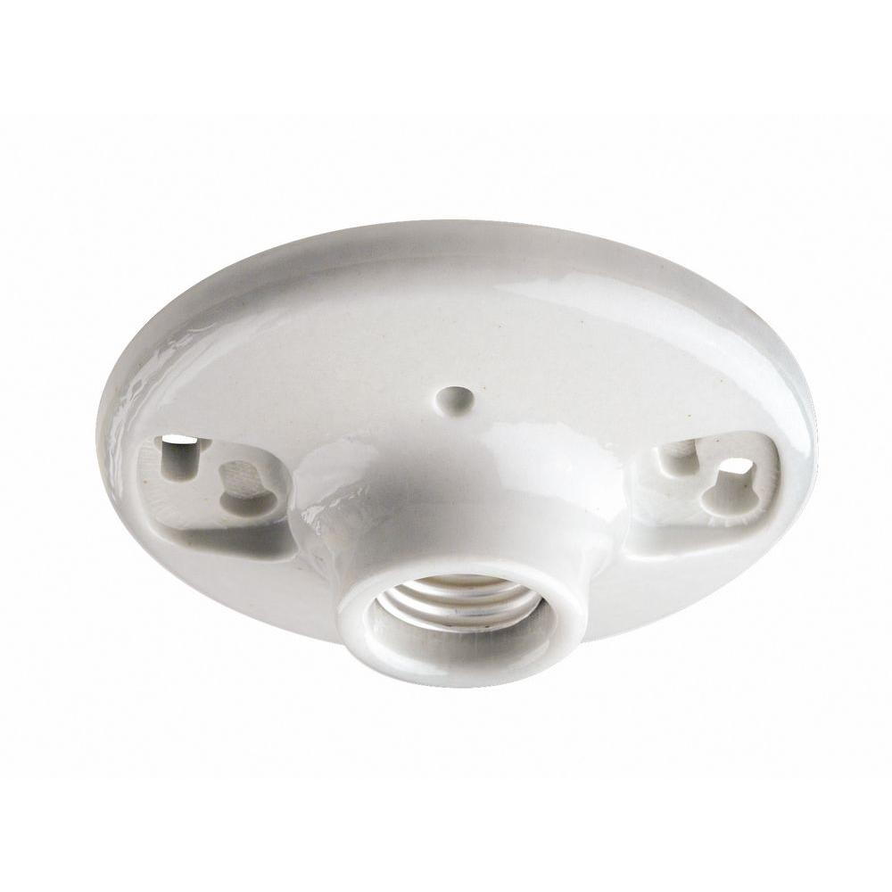 hight resolution of 600 watt 250 volt white outlet box lampholder