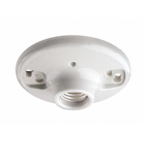 small resolution of 600 watt 250 volt white outlet box lampholder