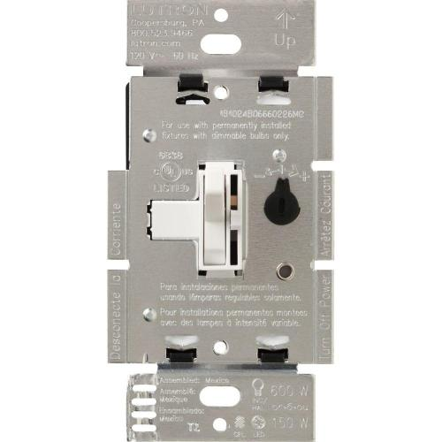 small resolution of lutron toggler c l dimmer switch for dimmable led halogen and incandescent bulbs single