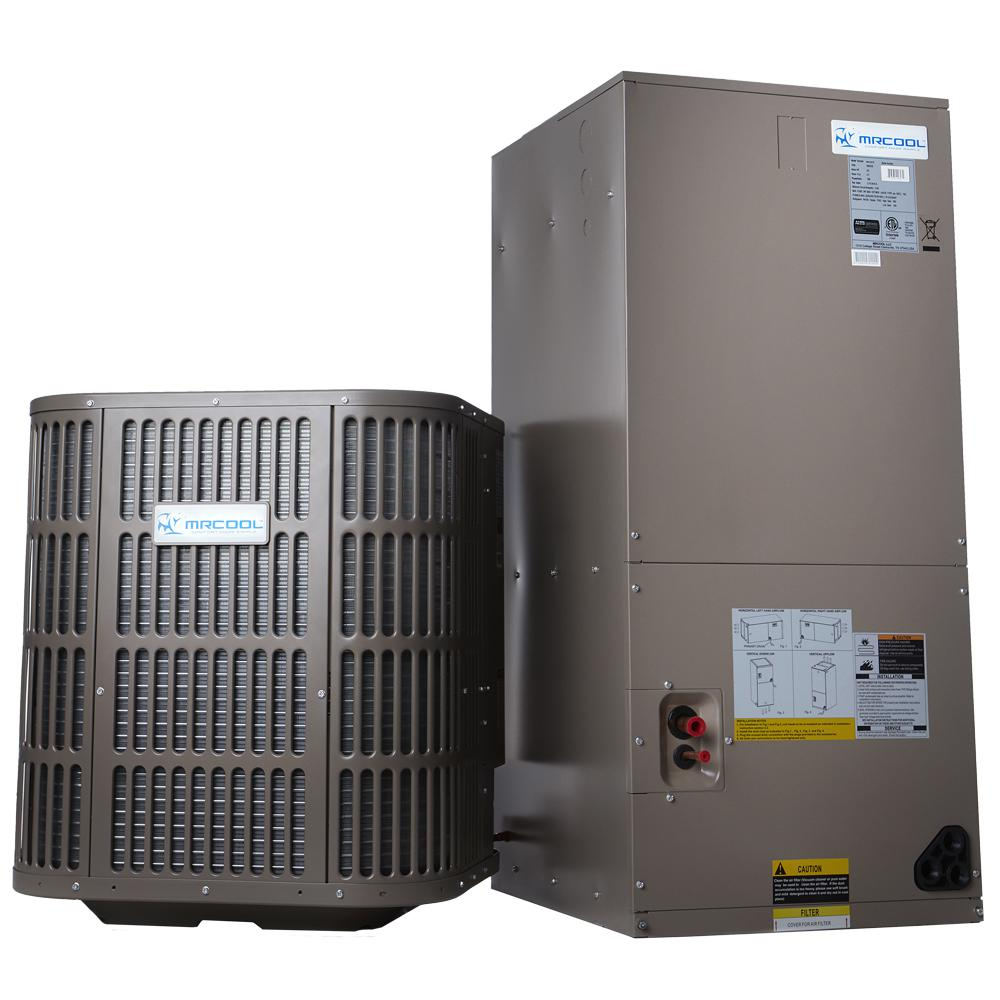 hight resolution of mrcool 2 ton 24 000 btu 14 seer r410a split system central air conditioning system