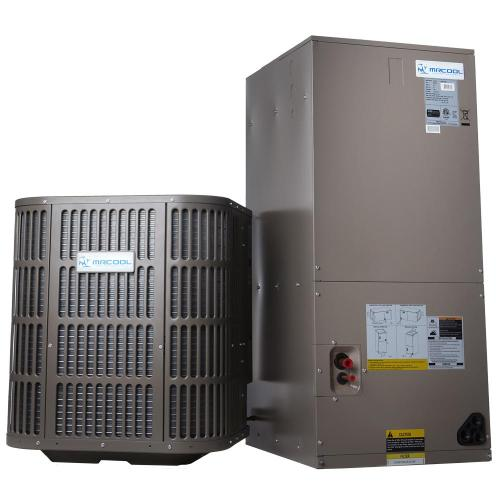 small resolution of mrcool 2 ton 24 000 btu 14 seer r410a split system central air conditioning system