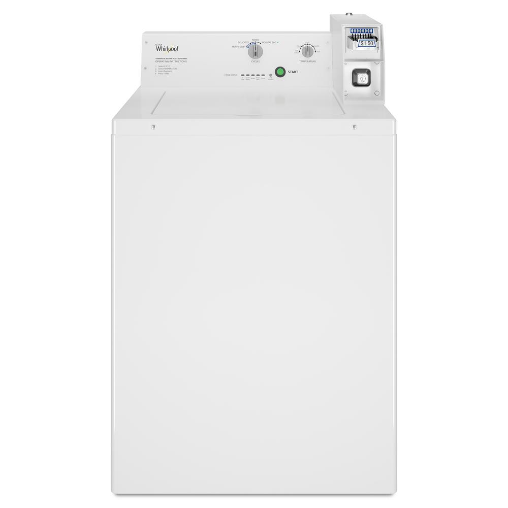 hight resolution of whirlpool 3 3 cu ft white commercial top load washing machine rh homedepot com whirlpool washer electrical diagram whirlpool cabrio washer wiring diagram