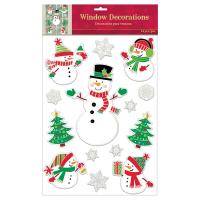 Christmas Decoration Window Clings | www.indiepedia.org