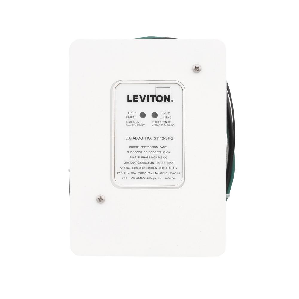 Leviton 120/240V Residential Whole Home Surge Protector AC