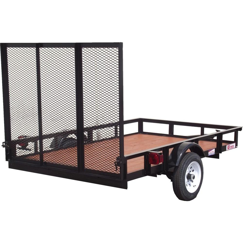Husky 5 ft x 8 ft Utility TrailerSU5081  The Home Depot