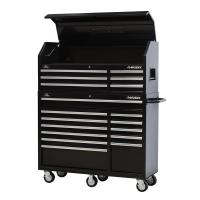 Husky 52 in. 18-Drawer Tool Chest and Rolling Tool Cabinet ...