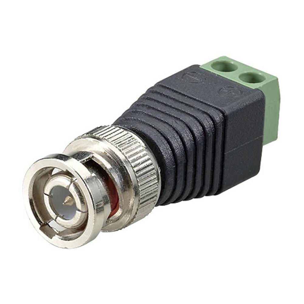 medium resolution of terminal block bnc male coax cat5 camera cctv video balun connector