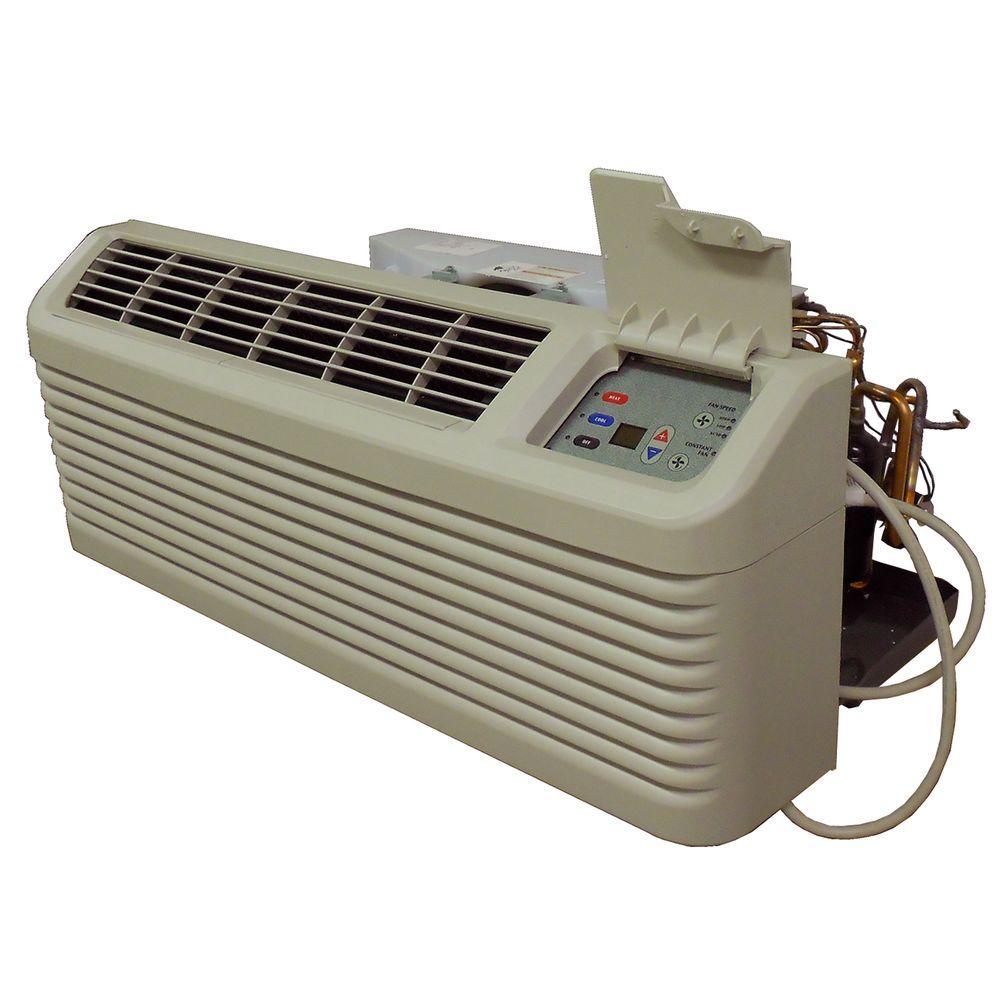medium resolution of 14 200 btu r 410a packaged terminal heat pump air conditioner 3 5 kw electric heat 230 volt