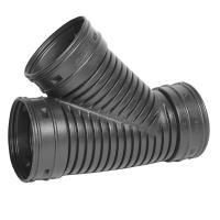 Charlotte Pipe 8 in. PVC DWV Wye-PVC 00600 1800 - The Home ...