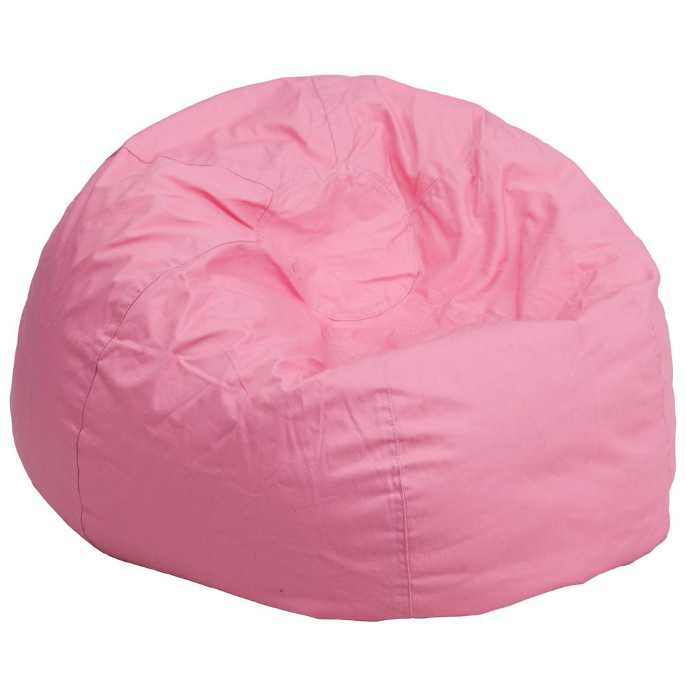 Where Can I Buy A Bean Bag Chair Oversized Solid Light Pink Bean Bag Chair