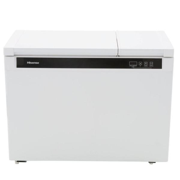 Hisense 9.0 Cu. Ft. Chest Freezer In White-fd90d6awd