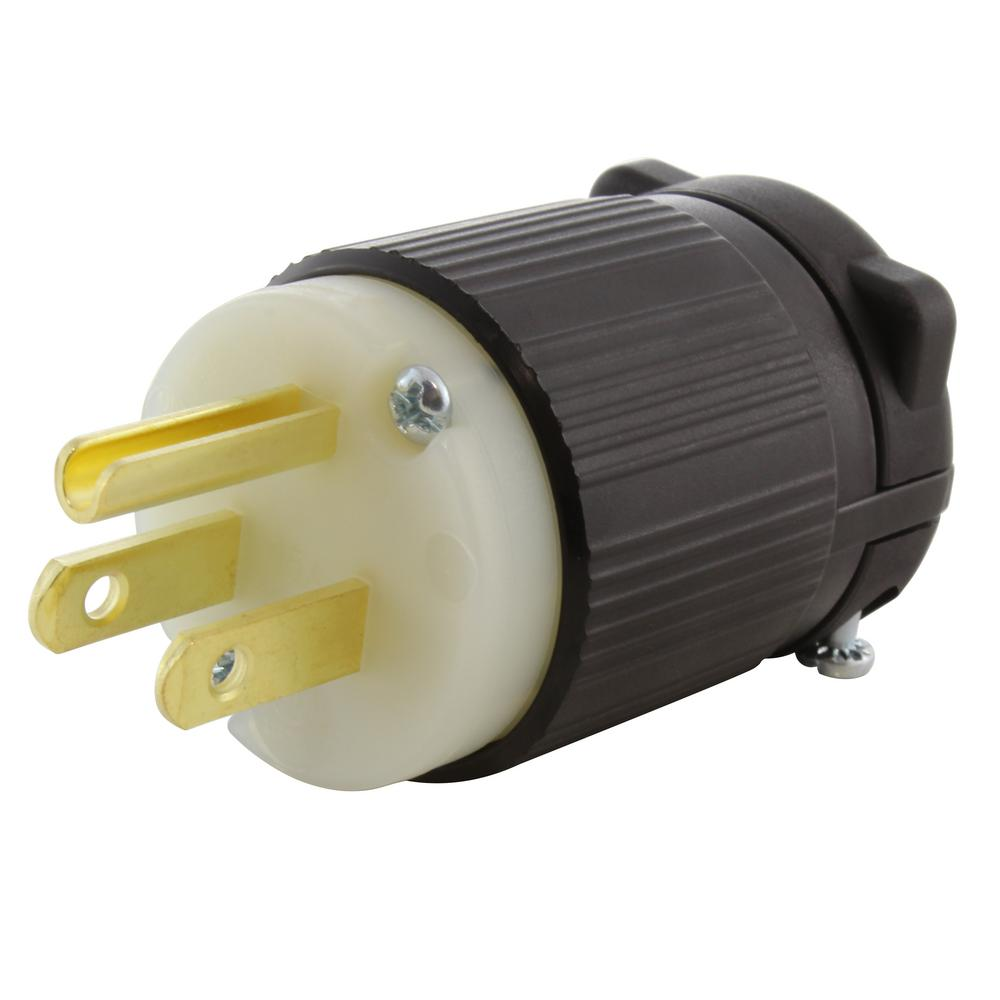medium resolution of 15 amp 125 volt nema 5 15p 3 prong industrial heavy duty grade male plug