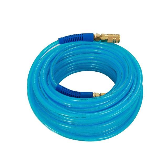 Polyurethane Air Hose 1/4 in x 100 ft Couplers Compressor Parts Pneumatic Tool