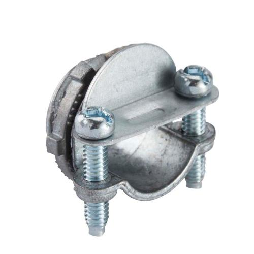 small resolution of 3 8 in flexible metal conduit fmc combination clamp connector 5
