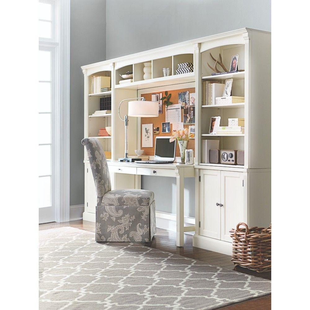 Home Decorators Collection Edinburgh 7Piece Ivory Modular Office Suite3062400410  The Home Depot