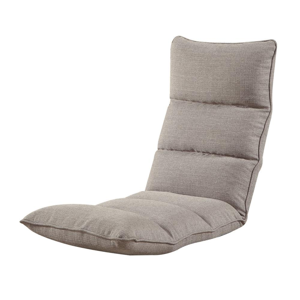 gaming floor chair rocking chairs atlanta acme furniture smoky gray morris 59603 the home depot