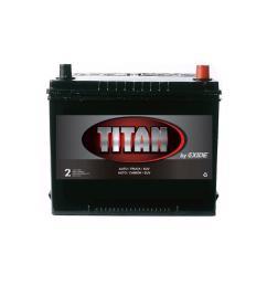 exide titan 12 volts lead acid 6 cell 24f group size 585 cold cranking amps [ 1000 x 1000 Pixel ]