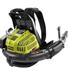 185 mph 510 cfm gas backpack leaf blower [ 1000 x 1000 Pixel ]