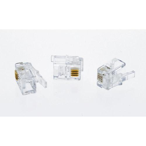 small resolution of ideal rj11 modular plugs standard package 3 packs of 25