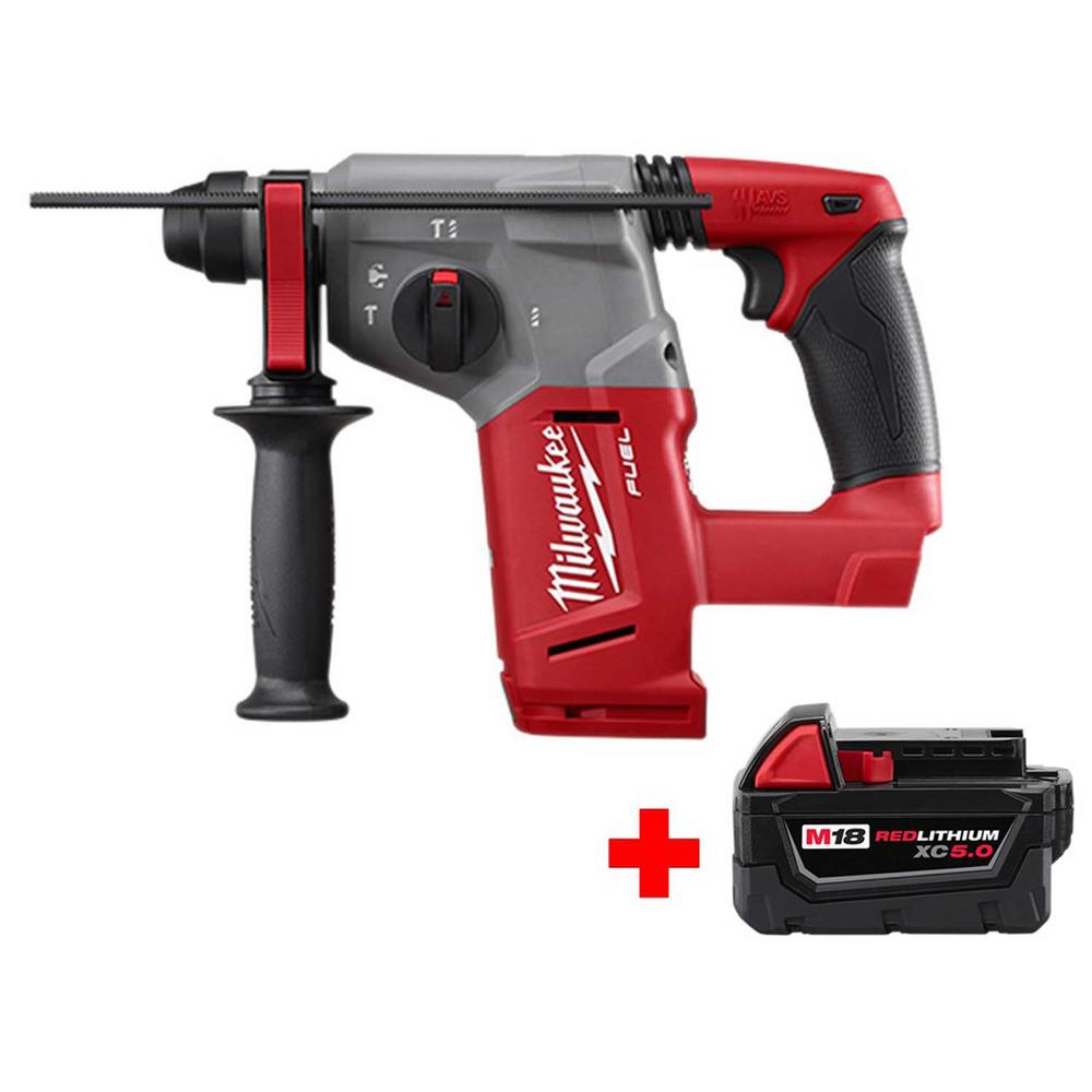 medium resolution of this review is from m18 fuel 18 volt lithium ion brushless cordless 1 in sds plus rotary hammer with free m18 5 0ah battery