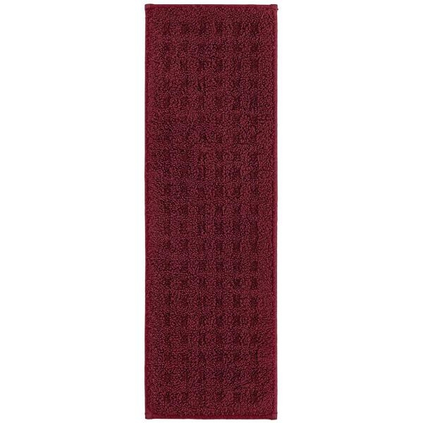 Mohawk Home Foliage Indoor Stair Tread Covers In Cabernet 9 In X | Home Depot Carpet Treads | Ottomanson Softy | Tread Covers | Rugs | Staircase | Stairs