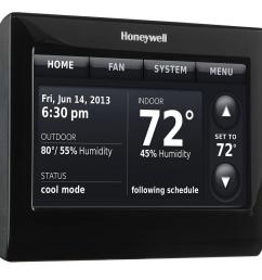 wiring diagram honeywell th9320wfv6007 wi fi wiring libraryhoneywell 7 day wi fi smart programmable thermostat with [ 1000 x 1000 Pixel ]
