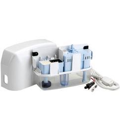 rectorseal aspen mini white 115 208 230 volt condensate pump for ductless mini [ 1000 x 1000 Pixel ]