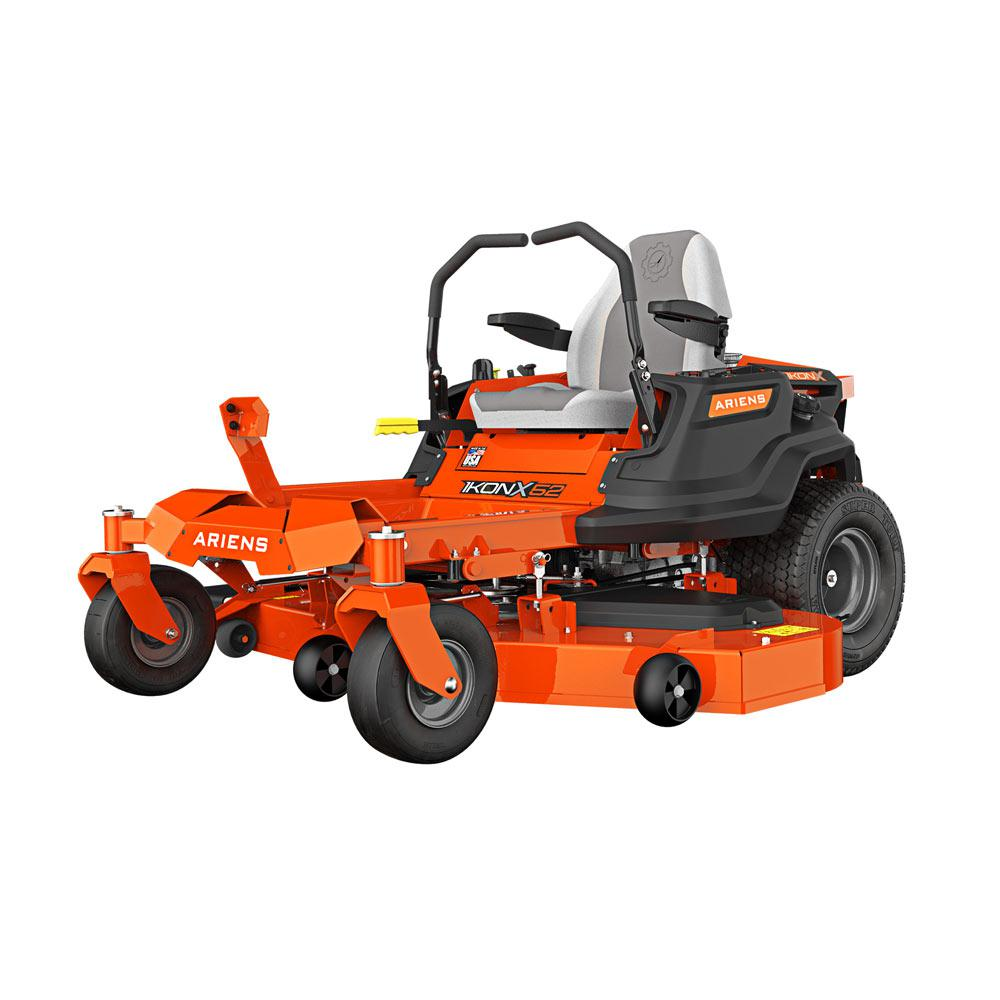medium resolution of ariens ikon x 52 in 23 hp kawasaki gas hydrostatic zero turn riding mower