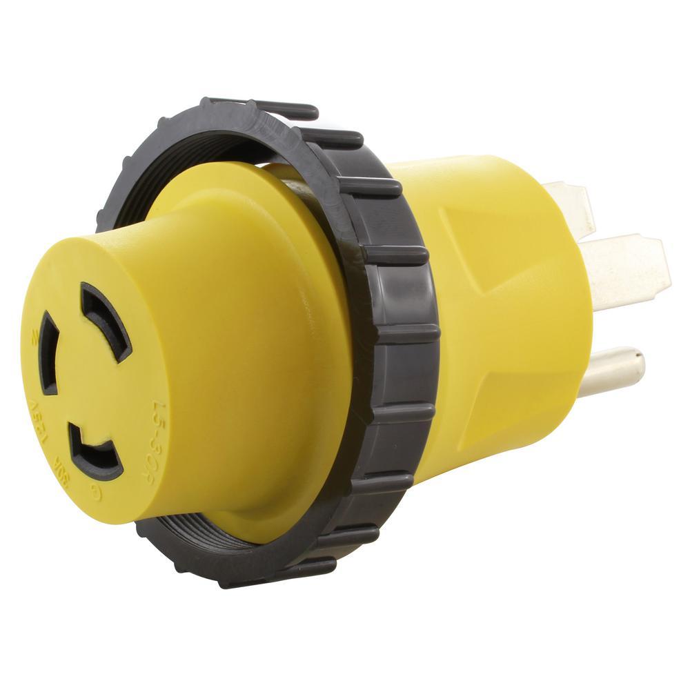 hight resolution of ac works ac connectors rv marine generator adapter 50 amp 4 prong rv 50 amp generator plug wiring