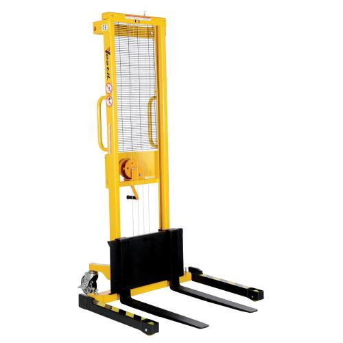 small resolution of high manual hand winch stacker