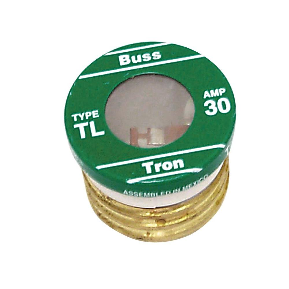hight resolution of cooper bussmann tl style 30 amp plug fuse 4 pack tl 30pk4 the 200 amp fuse box long box 30 amp fuse