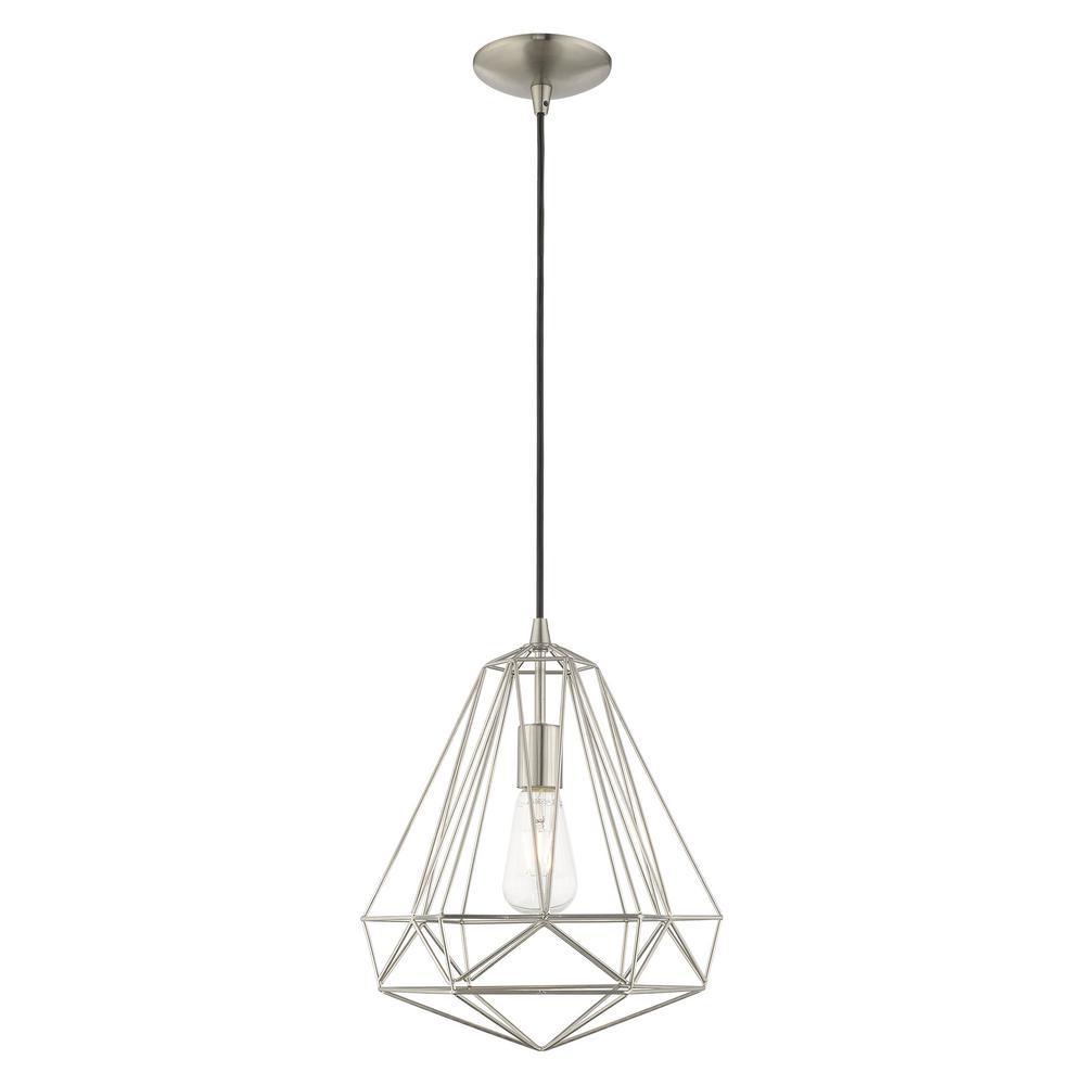 Livex Lighting Geometric Shade Mini Pendants 1 Light