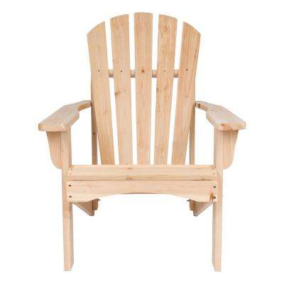 unfinished adirondack chair and a half glider canada wood chairs the rockport natural cedar