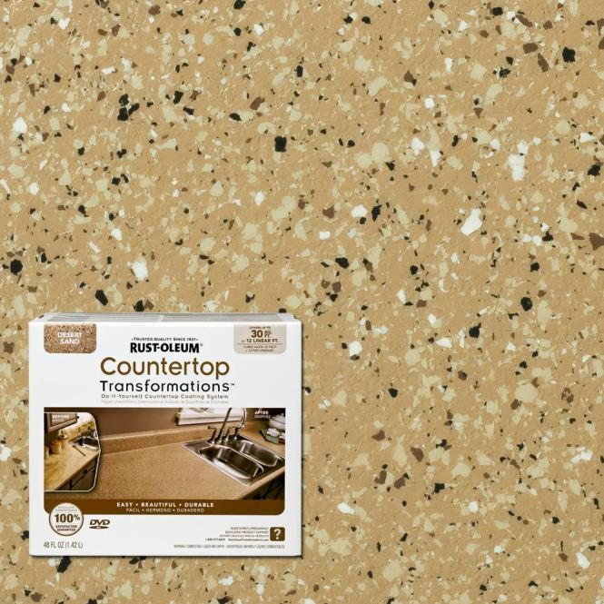 Rust Oleum Countertop Transformations Desert Sand