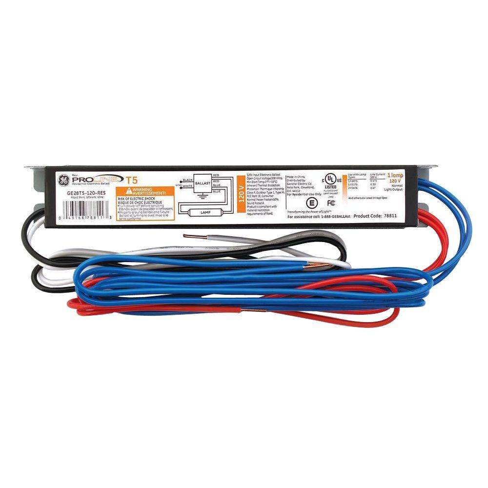 ge t5 4 lamp ballast wiring diagram