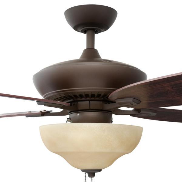 Hampton Bay Langston 60 In. Indoor Ceiling Fan With Light