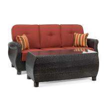 La Z Boy Outdoor Furniture Wicker Coffee Table