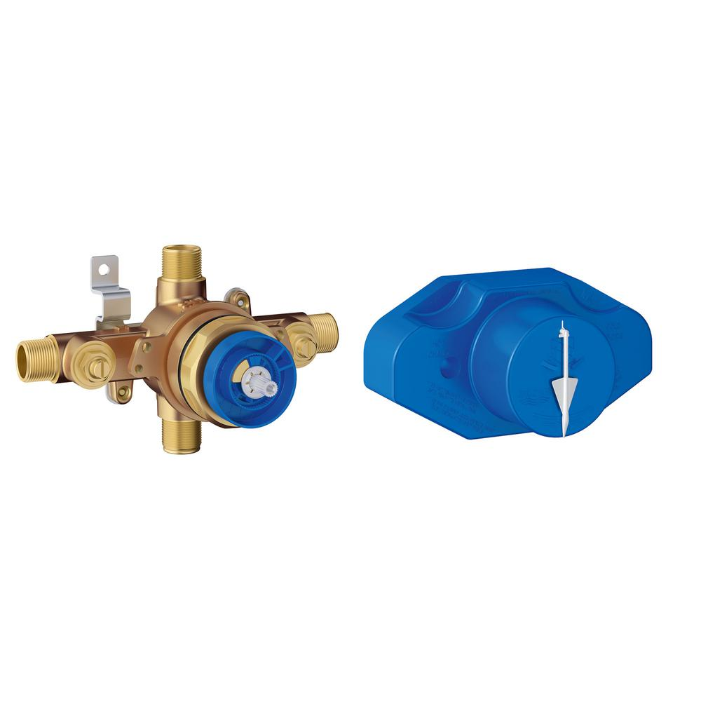 hight resolution of grohe pressure balance shower rough in valve