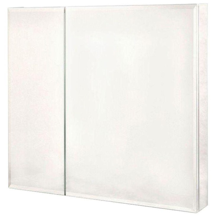 Pegasus 30 in. x 30 in. Frameless Recessed or Surface-Mount Bi-