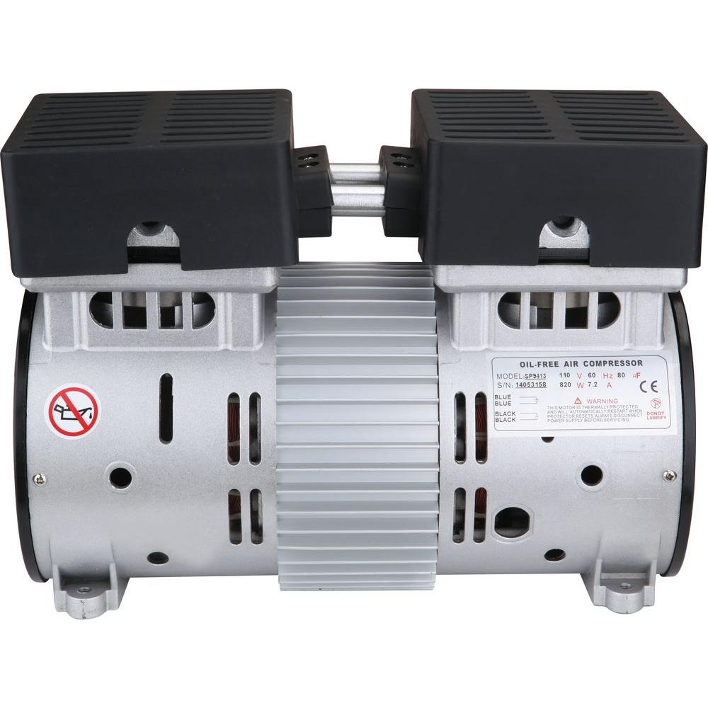 medium resolution of 1 0 hp ultra quiet and oil free air compressor motor
