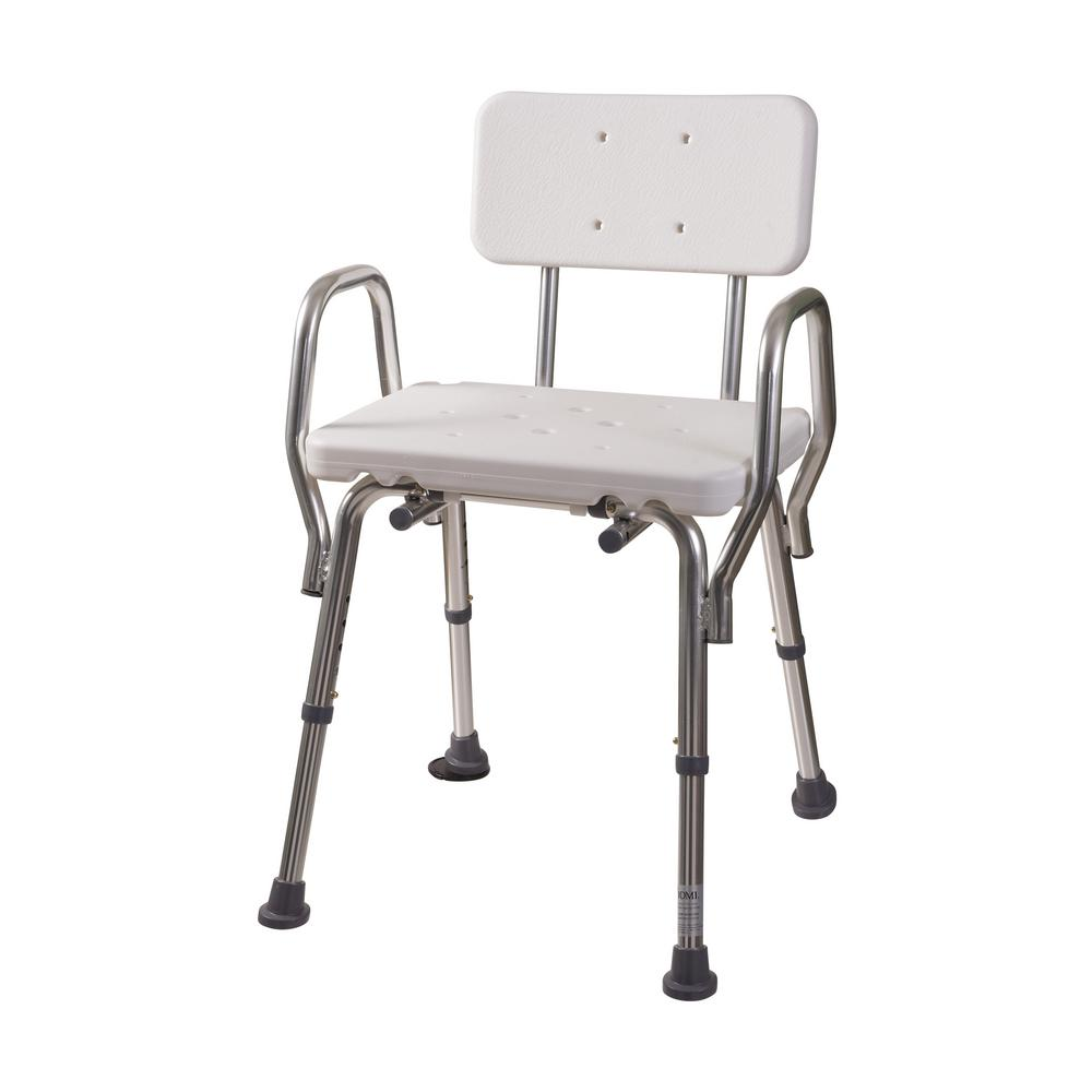 Shower Chair with Backrest52217331900  The Home Depot