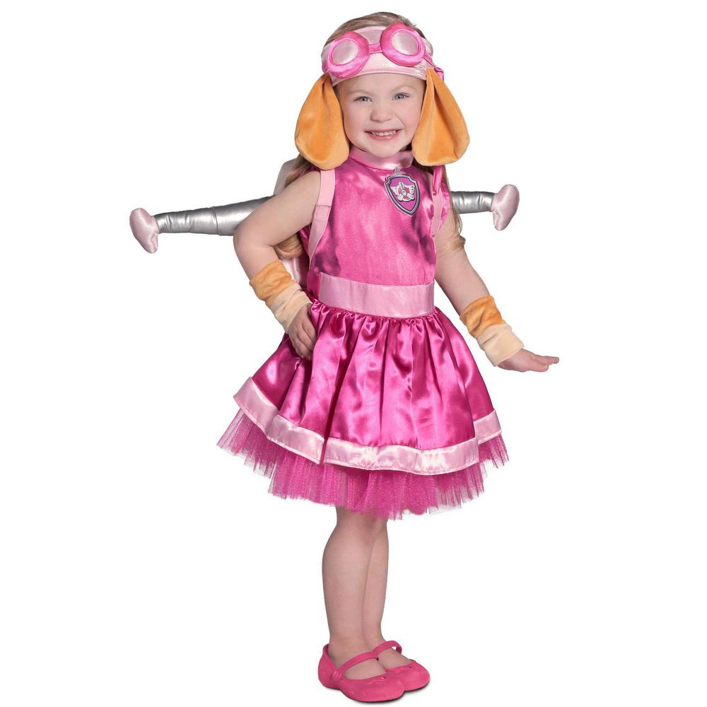Paw Patrol X Small Girls Skye Kids Halloween Costume 249853 The Home Depot