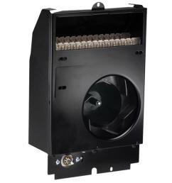 com pak 2000 watt 240 volt fan forced wall heater assembly with [ 1000 x 1000 Pixel ]